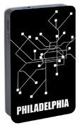 Square Philadelphia Subway Map Portable Battery Charger