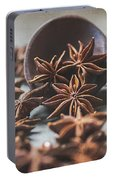 Star Anise 4825 By Tl Wilson Photography  Portable Battery Charger