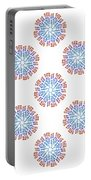 Starburst Pattern Portable Battery Charger