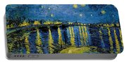 Starry Night - Digital Remastered Edition Portable Battery Charger