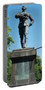 statue In memory of Gallant Soldier Lt. Col. George Elliott Bens Portable Battery Charger