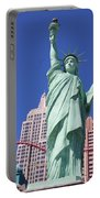 Statue Of Liberty Replica In Las Vegas Portable Battery Charger