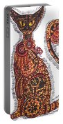 Steam Punk Cat Portable Battery Charger