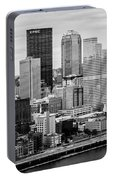 Steel City Skyline Portable Battery Charger