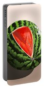 Still Life Watermelon 1 Portable Battery Charger