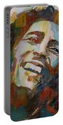 Stir It Up - Retro - Bob Marley Portable Battery Charger