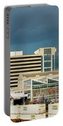 Storm Over Union Station Portable Battery Charger