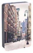 Streets Of Soho Portable Battery Charger