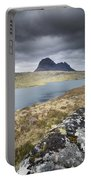 Suilven On A Stormy Day Portable Battery Charger