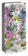Summer Day By The Artist Catalina Lira Portable Battery Charger