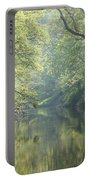 Summer Time River And Trees Portable Battery Charger