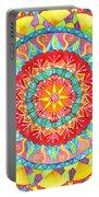 Sun Mandala Portable Battery Charger