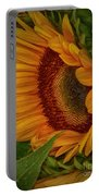 Sunflower Beauty Portable Battery Charger by Judy Hall-Folde