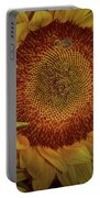 Sunflower Splendor Portable Battery Charger by Judy Hall-Folde