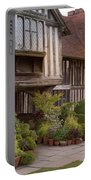 Sunset At Great Dixter House And Gardens Portable Battery Charger by Perry Rodriguez