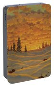 Sunset In Finland  Portable Battery Charger