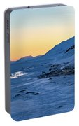 Sunset In The Arctic Portable Battery Charger