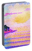 Sunset Over The Sea - Digital Remastered Edition Portable Battery Charger