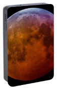 Super Wolf Blood Moon Lunar Eclipse Of 2019 Portable Battery Charger