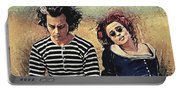 Sweeney Todd And Mrs. Lovett Portable Battery Charger