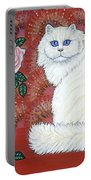 Sweetheart Cat Portable Battery Charger
