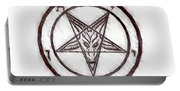Symbol Of The Occult Portable Battery Charger