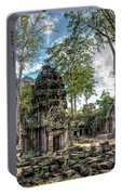 Ta Prohm Temple Inside Angkor Complex, Cambodia. Portable Battery Charger