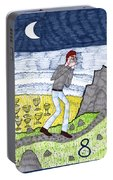 Tarot Of The Younger Self Eight Of Cups Portable Battery Charger