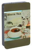 Tea Collage Poster Portable Battery Charger