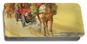 Ten Thousand Mile Motor Race Camel Train Portable Battery Charger