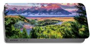 Grand Teton National Park Snake River Portable Battery Charger