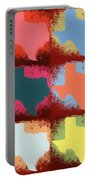 Texas Pop Art Panels Portable Battery Charger
