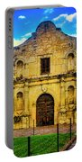 The Alamo Mission Portable Battery Charger