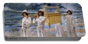 The Ark Passes Over The Jordan, 1902 Portable Battery Charger