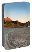 The Badlands And A Sunrise Portable Battery Charger