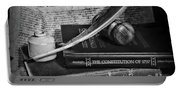 The Constitutional Lawyer In Black And White Portable Battery Charger