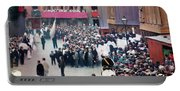 The Corpus Christi Procession Leaving The Church Of Santa Maria Del Mar - Digital Remastered Edition Portable Battery Charger