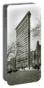 The Flatiron Building 1903 Portable Battery Charger