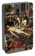 The Judgment Of Cambyses, Flaying Of Sisamnes Portable Battery Charger