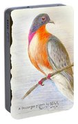 The Passenger Pigeon  Portable Battery Charger
