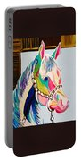 The Pink Horse Portable Battery Charger