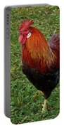 The Pose Of The Rooster Portable Battery Charger