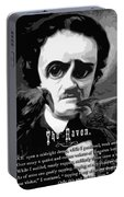 The Raven Edgar Allan Poe Portable Battery Charger