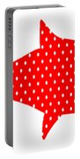 The Red Polka Dot Fish Portable Battery Charger