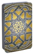 The Roman Mandala At Tomis Portable Battery Charger
