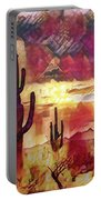 The Sonoran Saguaro  Portable Battery Charger