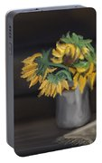 The Sun Flowers  Portable Battery Charger