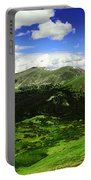 The Top Of Independence Pass Portable Battery Charger