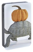 The Tortoise And The Pumpkin Portable Battery Charger