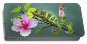 The Veiled Chameleon Of Florida Portable Battery Charger